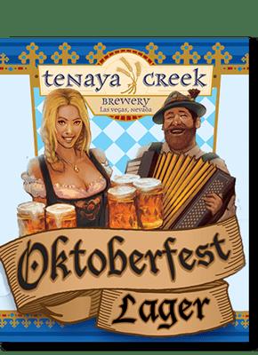 Oktoberfest-label